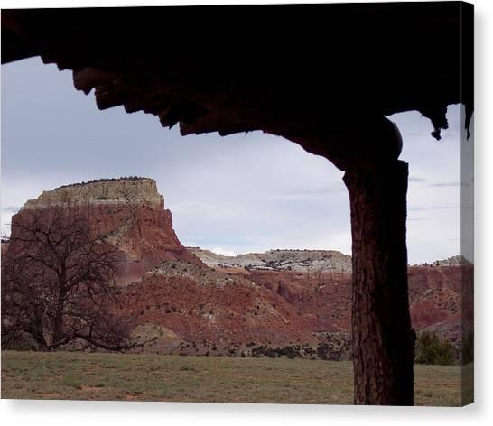 Table Mesa At Ghost Ranch Canvas Print