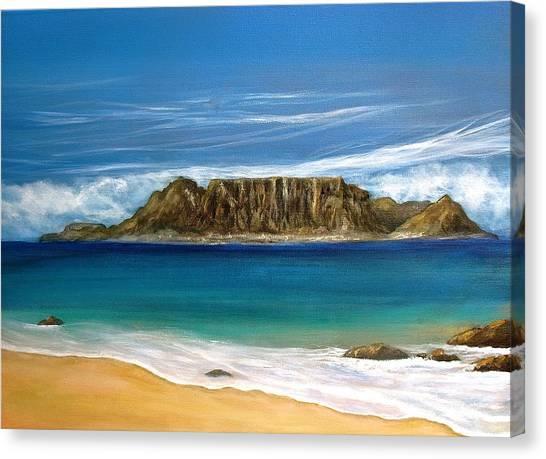 Table Mountain 2 Canvas Print by Heather Matthews