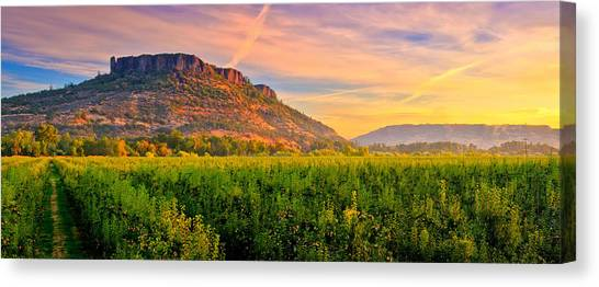 Table Mountain Canvas Print - Table Rock Mountain by Alvin Kroon