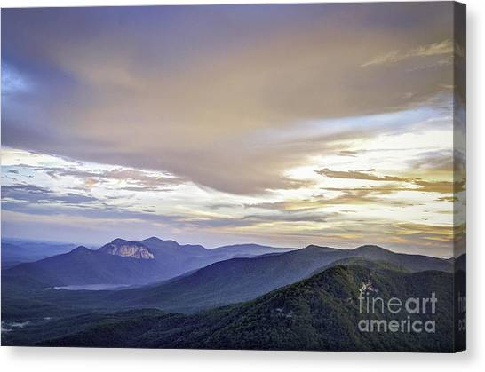 Table Rock Sunset Canvas Print