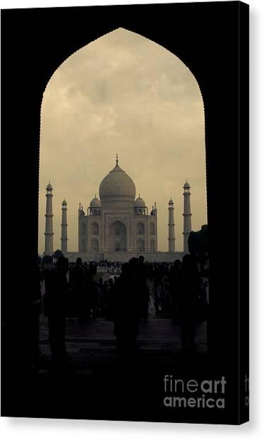 Taj Mahal Canvas Print by Inhar Mutiozabal