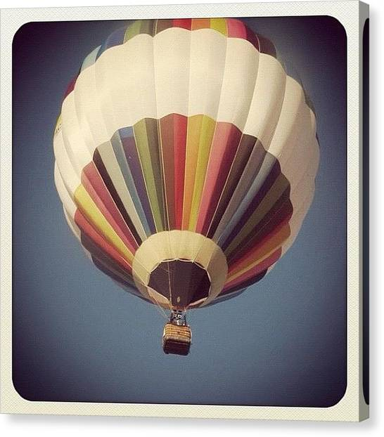 Hot Air Balloons Canvas Print - Take Me Away by Laura Douglas