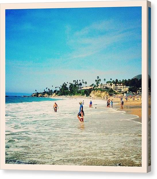 Mermaids Canvas Print - Take Me Back To Laguna💙 by Mermaid Lifee