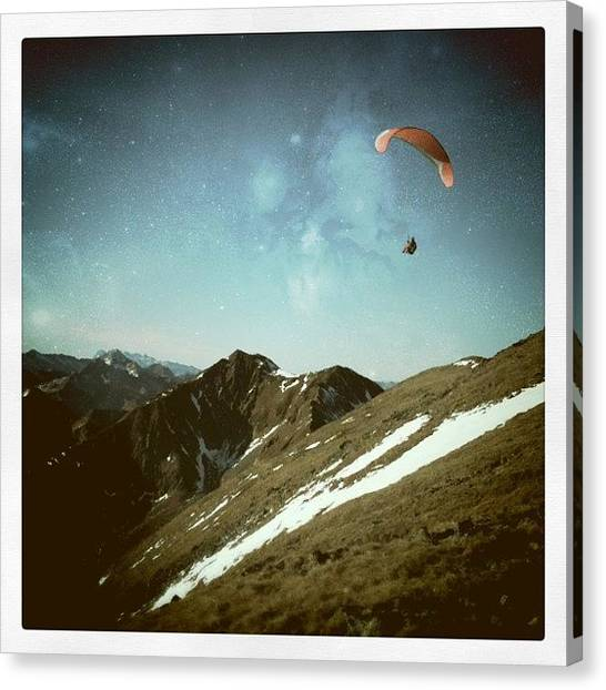 Outer Space Canvas Print - Take Me Home by Florian Divi
