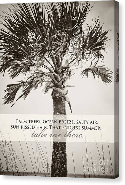 Florida Wildlife Canvas Print - Take Me There by Misty Diller