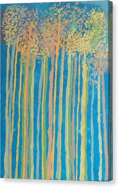 Tall Trees Canvas Print by Helene Henderson