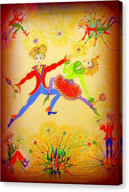 Tango-argentina Canvas Print