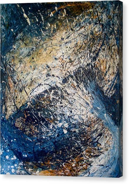 Tantric Sea Canvas Print