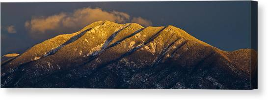 Taos Mountain Canvas Print