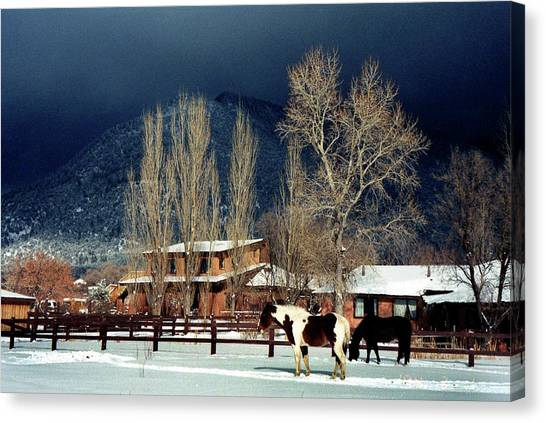 Taos Typical Canvas Print by Ed Golden