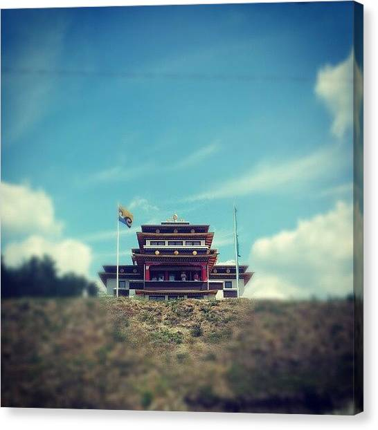 Temples Canvas Print - Tara Temple by Perlaki Peter