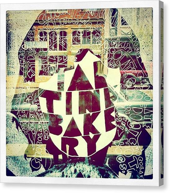 Bakeries Canvas Print - Tartine by Kim Hudson