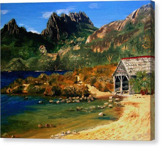 Tassie Canvas Print