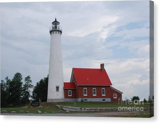 Tawas Point Lighthouse Canvas Print