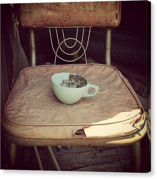 Farmhouse Canvas Print - Tea For One by Love Bird Photo
