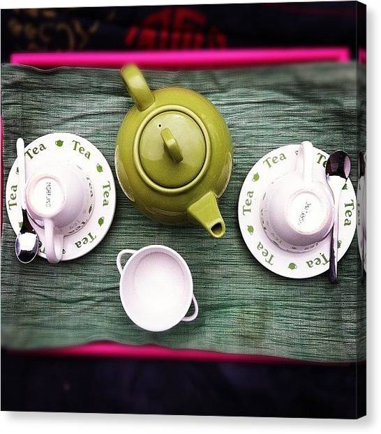 Limes Canvas Print - Tea For Two by S Michelle Reese
