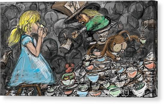Tea Party Canvas Print by Eric Atkisson