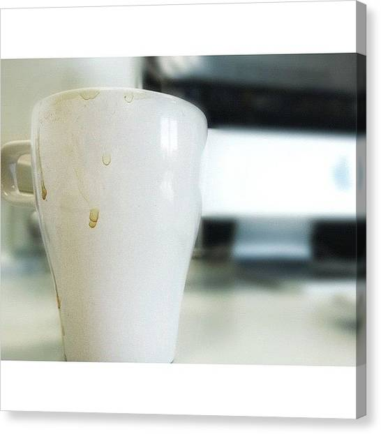 Mac Canvas Print - #tea_art ☕ by Melanie Stork