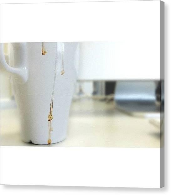 Mac Canvas Print - #tea_art 3⃣ by Melanie Stork