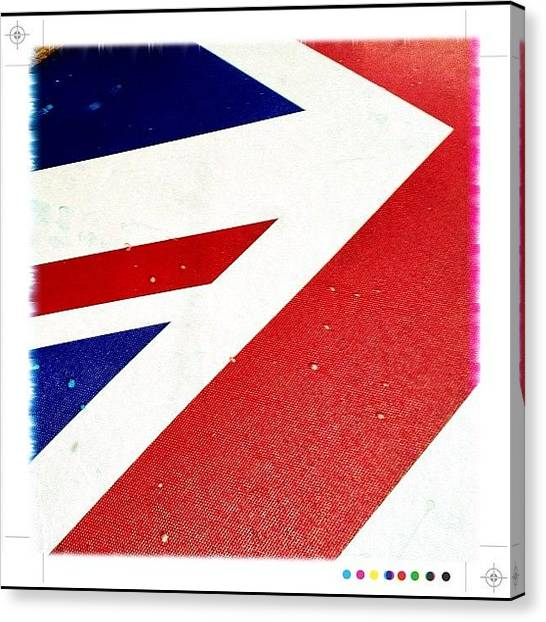 Flags Canvas Print - Team Gb by Mark B