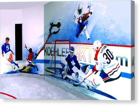 Toronto Blue Jays Canvas Print - Team Sports Mural by Hanne Lore Koehler