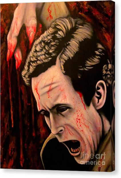 Ted Bundy Canvas Print - Ted Bundy by Justin Coffman