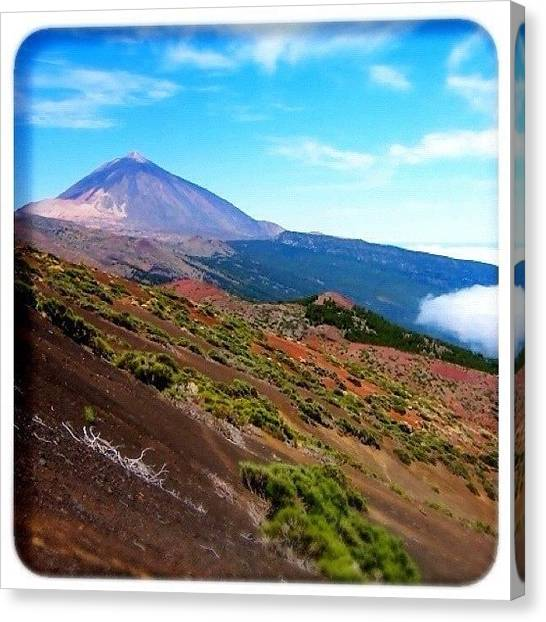 Volcanoes Canvas Print - Teide by Mark B