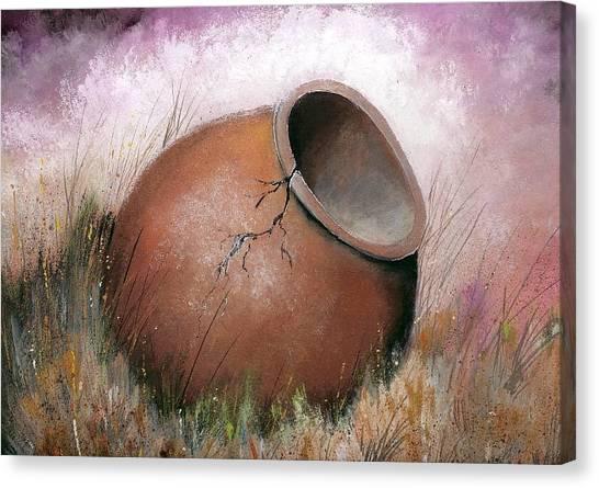 Temecula Pottery Original Canvas Print
