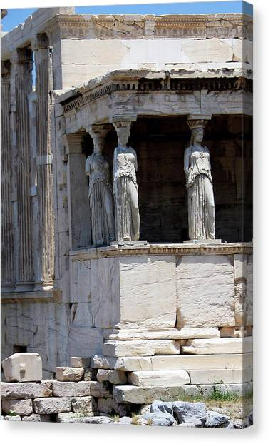 Temple Of Athena Canvas Print