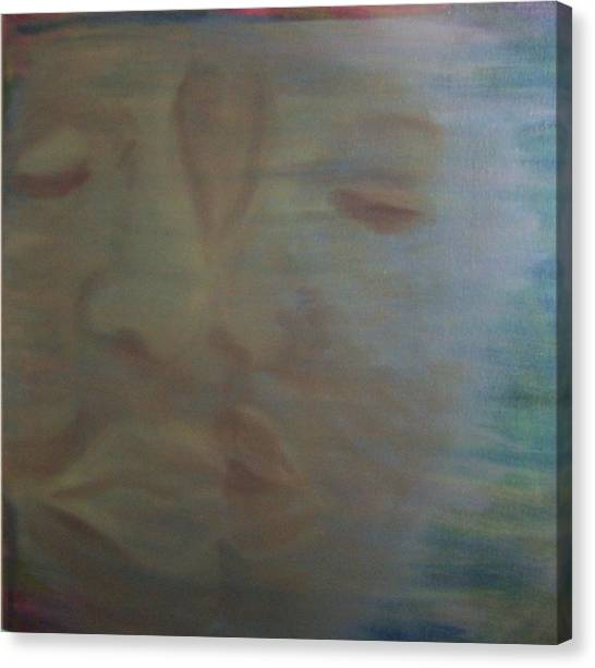 Tender Kiss Canvas Print by Susan Saver
