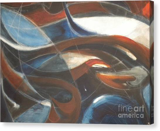 Canvas Print - Tendrils by Silvie Kendall