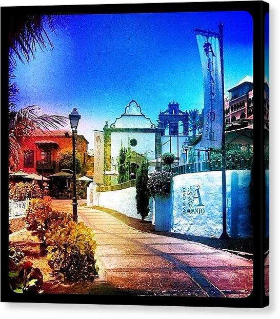 Holidays Canvas Print - Tenerife by Mark B