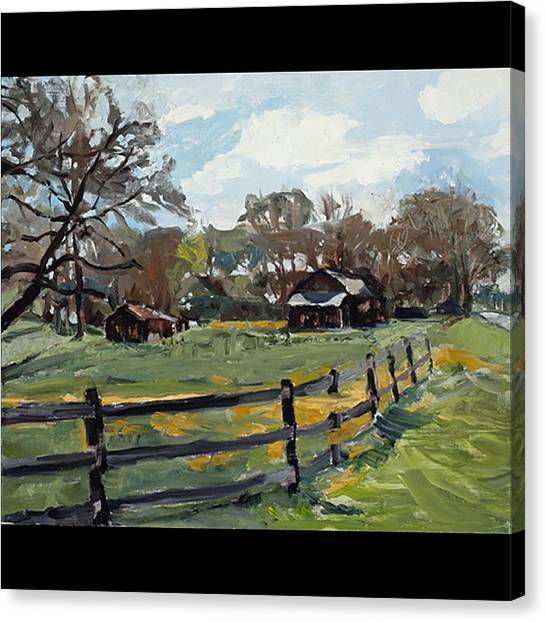 Tennesee Back Road Canvas Print