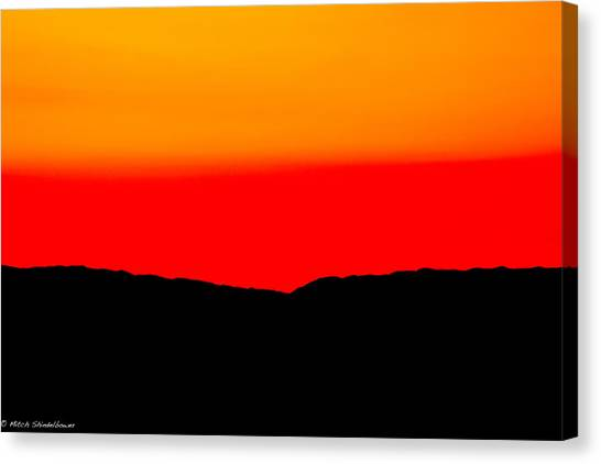 Tequila Sunrise Canvas Print - Tequila Sunrise by Mitch Shindelbower