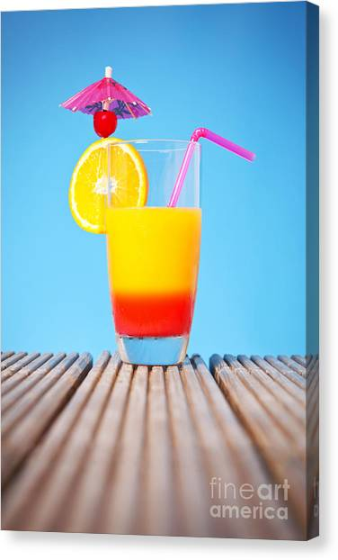 Tequila Sunrise Canvas Print - Tequila Sunrise by Richard Thomas