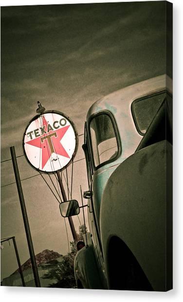 Texaco Canvas Print by Merrick Imagery