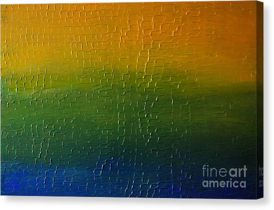 Textured Colors Canvas Print