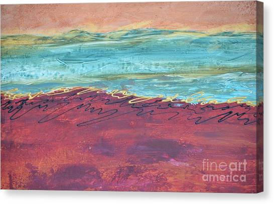 Textured Landscape 2 Canvas Print