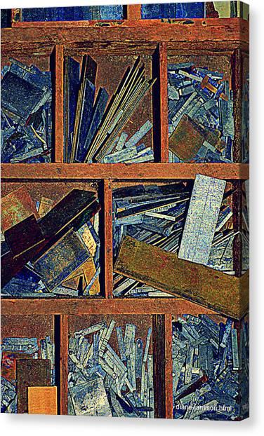 textures III Canvas Print