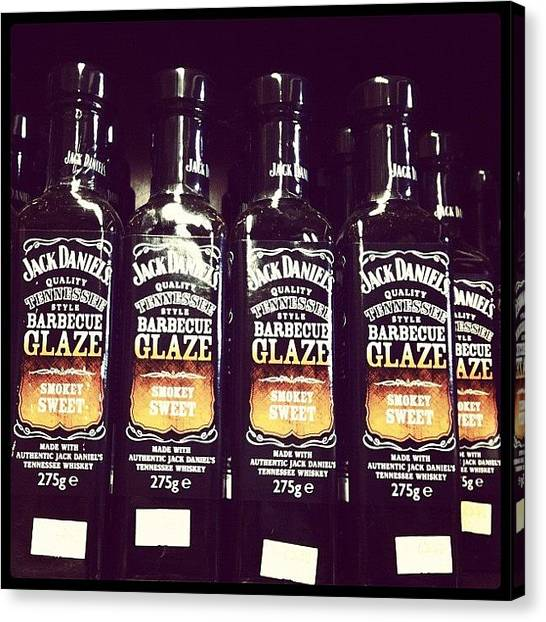 Whiskey Canvas Print - Tgif! Ready To Drunk And Smokey? by Zachary Voo