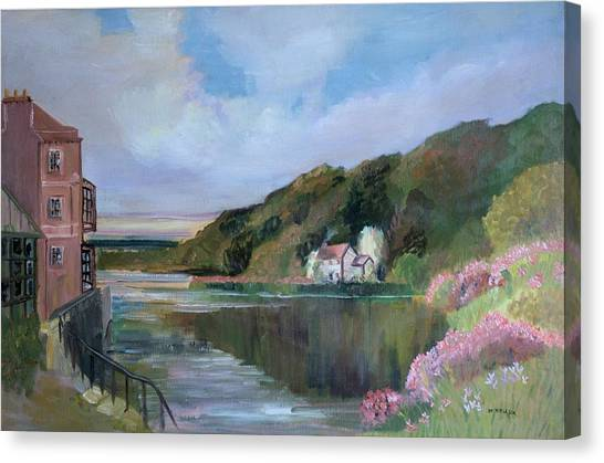 Thames River England By Mary Krupa Canvas Print