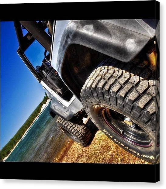 Offroading Canvas Print - Thanks @rubicontaxi For The Great by James Crawshaw