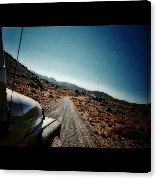 Jeep Canvas Print - Thanks @rubicontaxi For This Shot by James Crawshaw