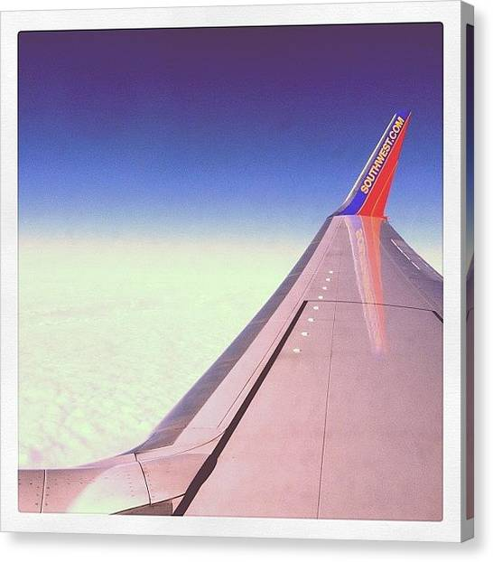 Mermaids Canvas Print - Thanks Southwest ✈ by Mermaid Lifee