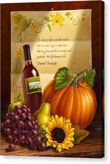 Thanksgiving Canvas Print