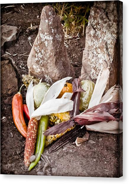 Albuquerque, New Mexico - Thanksgiving Canvas Print