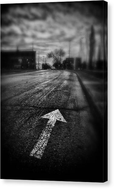 That Way  Canvas Print by Russell Styles