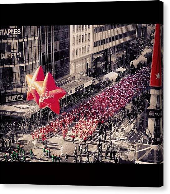 Macys Parade Canvas Print - Thats All Folks! #believe #macys by Bianca Q