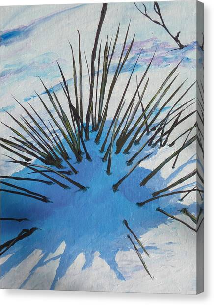 Buried Canvas Print - Thaw by Sandy Tracey