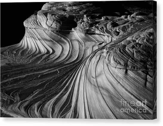 Black Rock Desert Canvas Print - The 2nd Wave by Keith Kapple